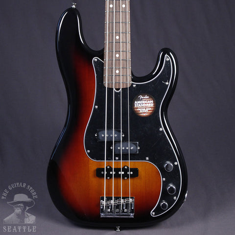 Fender Limited Edition American Standard PJ Bass Rosewood Fingerboard Three Tone Sunburst 0171503700