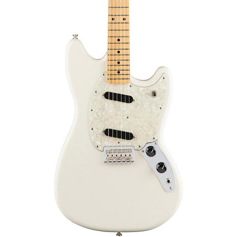 Fender Mustang Electric Guitar - Olympic White 0144042505