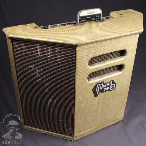 Used 1961 GIbson GA-79RV Combo Tweed