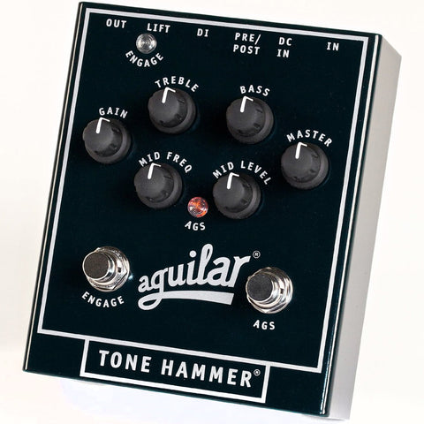 Aguilar Tone Hammer Bass Preamp & Direct Box