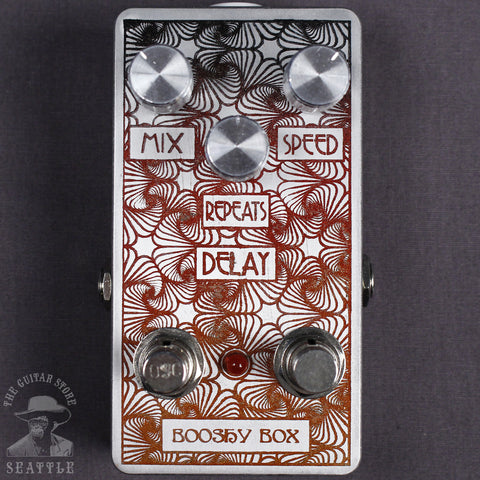 Joe Parker Booshy Box Delay Pedal