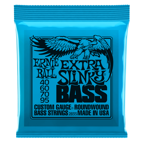 Ernie Ball Extra Slinky Nickel Wound Electric Bass Strings