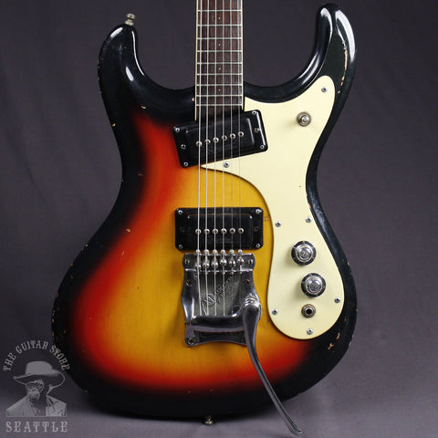 Used 1966-67 Mosrite Ventures Sunburst