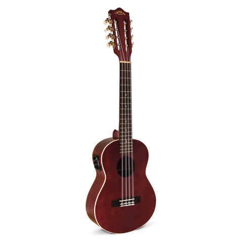 Lanikai Legacy Collection Mahogany Acoustic-Electric 8-String Tenor Ukulele