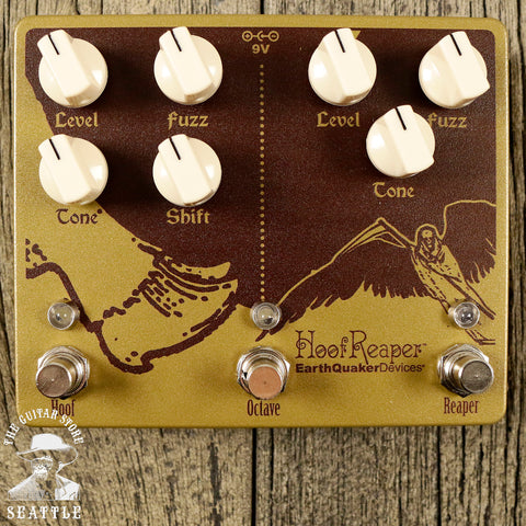 Earthquaker Devices Hoof Reaper V2 Octave Fuzz Pedal
