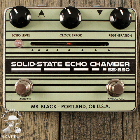 Mr. Black SS-850 Solid State Echo Chamber Pedal