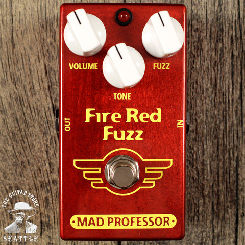 Mad Professor Fire Red Fuzz Pedal