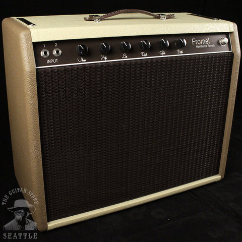 Fromel Hawthorne Reverb Tan Two Tone