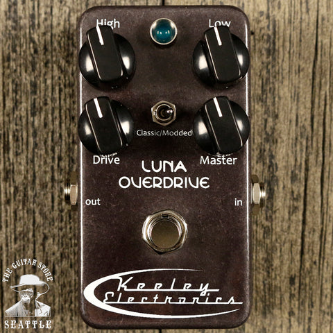 Keeley Luna Overdrive Pedal Gray
