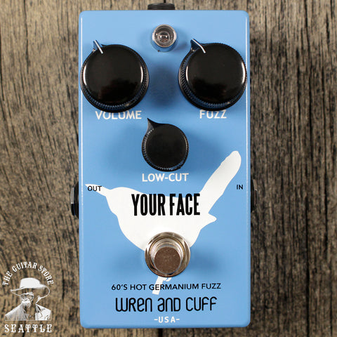 Wren and Cuff Your Face 60's Fuzz