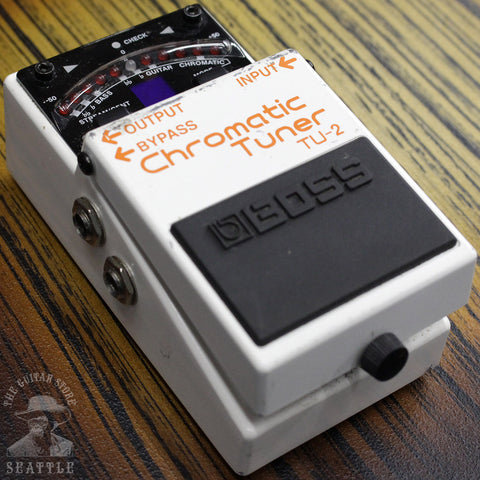 Used Boss TU-2 Chromatic Tuner