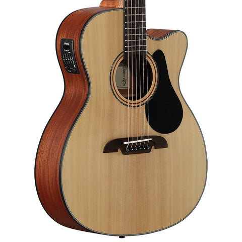 Alvarez AF30CE Folk Cutaway Natural Acoustic-Electric Guitar