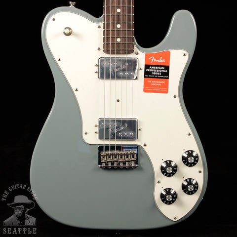 Fender American Pro Telecaster Deluxe Shawbucker Rosewood Fingerboard Sonic Gray
