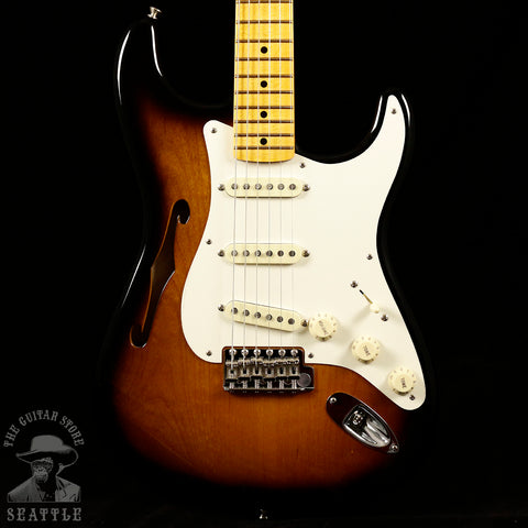 Fender Eric Johnson Signature Thinline Stratocaster Maple Fingerboard 2-Color Sunburst 0113602703