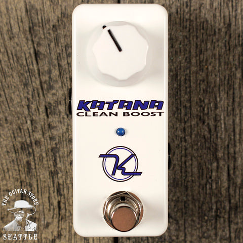 Keeley Mini Katana Clean Boost Pedal