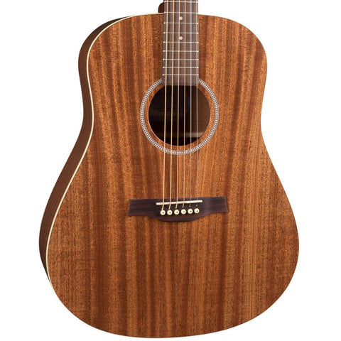 Seagull S6 Mahogany Deluxe Acoustic-Electric with Gig Bag