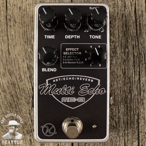 Keeley ME-8 Multi Echo/Delay Pedal *B-Stock