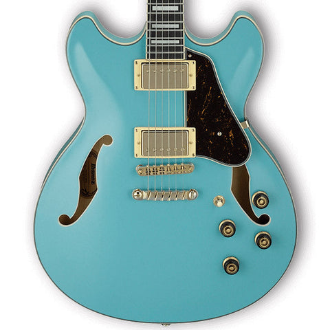Ibanez Artcore AS73G Semi-Hollow Mint Blue
