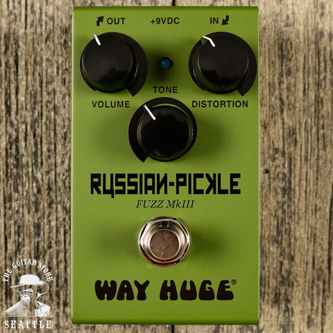 Way Huge WM42 Smalls Mini Russian Pickle Fuzz Pedal