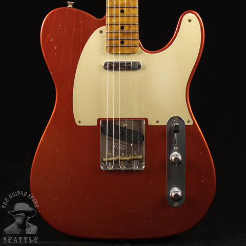 Fender Custom Shop Red Hot Roasted Telecaster Journeyman Relic Aged Candy Apple