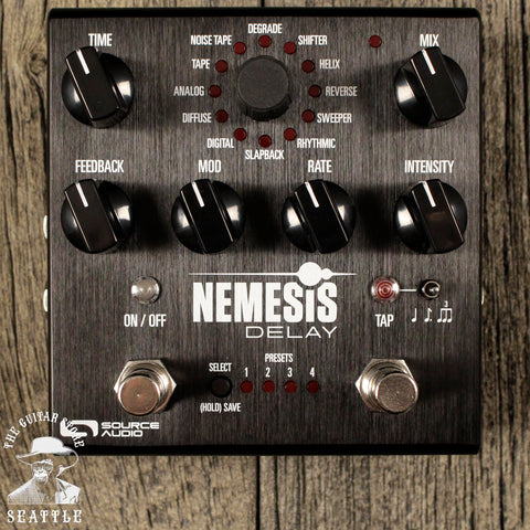 Source Audio Nemesis Delay Pedal