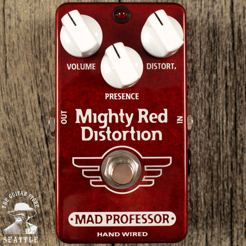 Mad Professor Mighty Red Distortion Pedal
