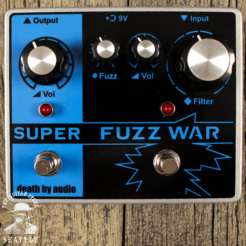 Death By Audio Super Fuzz War Pedal