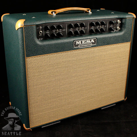 Mesa Boogie Triple Crown TC-50 Combo Amplifier Emerald Bronco