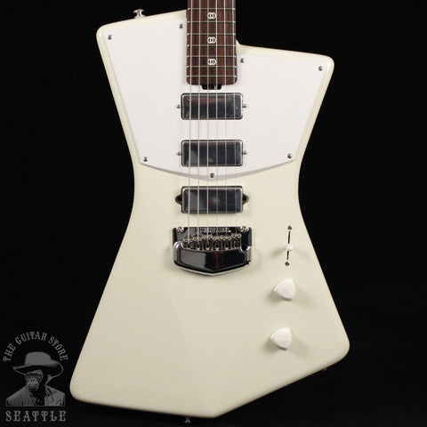 Ernie Ball Music Man St. Vincent Electric Guitar - Rosewood Neck - Polaris White