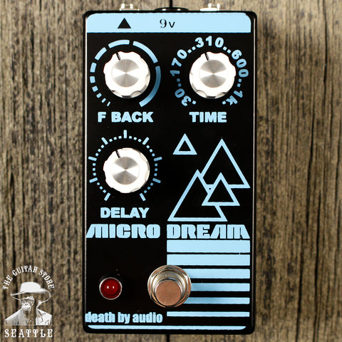 Death By Audio Micro Dream Delay Pedal