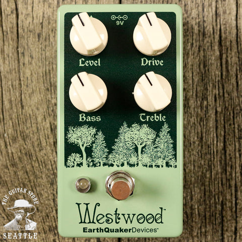 Earthquaker Devices Westwood Translucent Drive Manipulator Overdrive Pedal