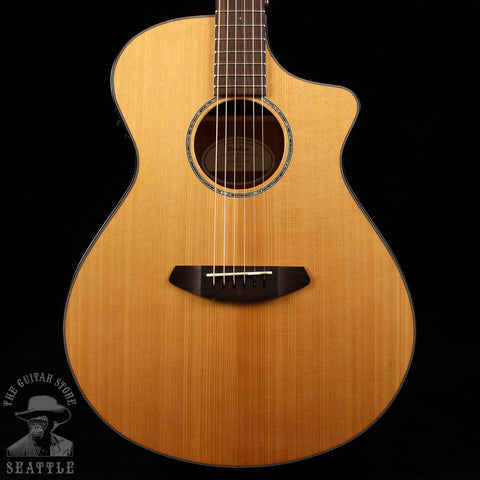 Breedlove Pursuit Concert CE Mahogany Red Cedar Acoustic Guitar