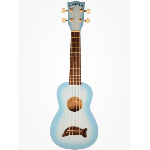 Makala Dolphin Ukulele Light Blue Burst
