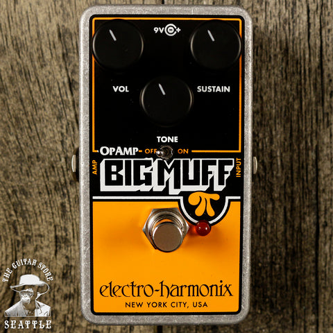 Electro-Harmonix Op-Amp Big Muff Pi Distortion/Sustainer Pedal