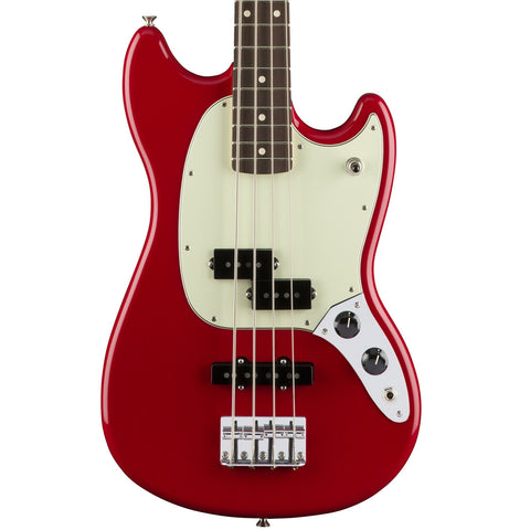 Fender Mustang Bass Guitar PJ Torino Red