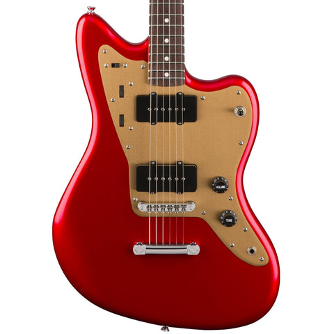 Squier Deluxe Jazzmaster ST Candy Apple Red Electric Guitar