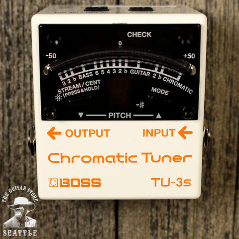 Boss TU-3S Small Chromatic Tuner