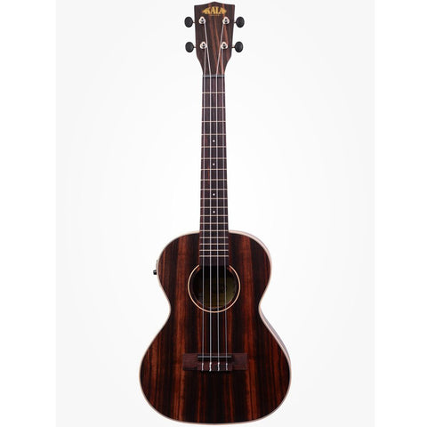 Kala Striped Ebony Tenor Ukulele Acoustic-Electric Natural