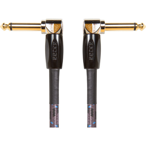 Boss BIC-PC-3 6 Inch Right Angle Instrument Cable Three Pack