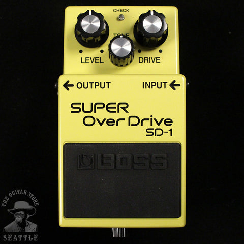 Fromel Modified Boss SD-1 Super OverDrive