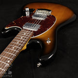 Ernie Ball Music Man StingRay Electric Guitar - Vintage Tobacco