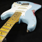 Fender Custom Shop Limited 57 Journeyman Stratocaster Daphne Blue over Paisley