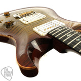 Paul Reed Smith Wood Library Custom 24 Artist Grade Flamed Burnt Almond 212474