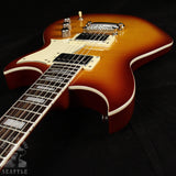 Used Reverend Sensei HB Flame Top Cherry Burst Electric Guitar