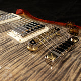 Paul Reed Smith McCarty 594 Wood Library 10 Top Flame Brazilian Rosewood Burnt Maple Leaf 244048