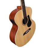 Alvarez ABT60E Artist 60 Series Baritone Acoustic Electric Guitar - Natural Finish
