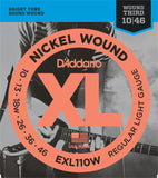 D'Addario EXL110W XL Nickel Round Wound Regular Light Wound 3rd 10-46