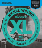 D'Addario EXL158 XL Nickel Round Wound Baritone Light 13-62