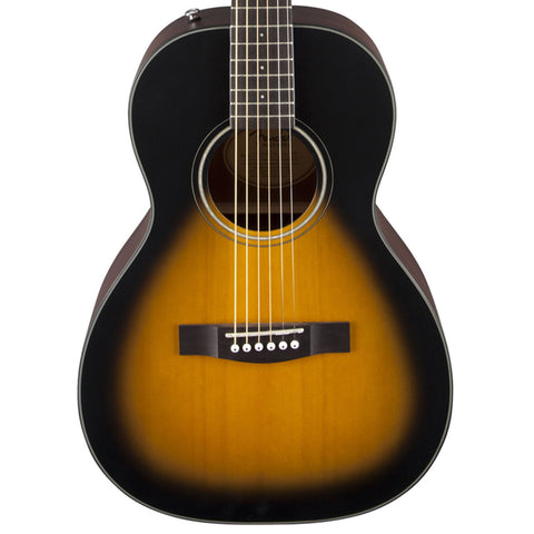 Fender CP-100 Parlor Sunburst Acoustic Guitar 0961571021