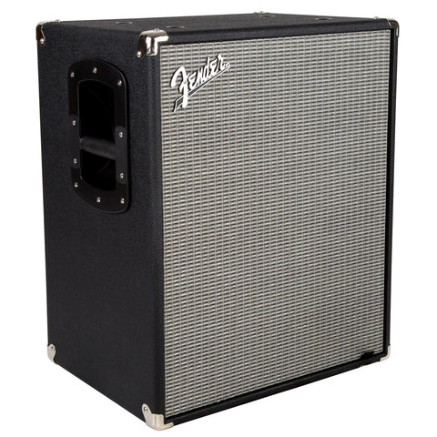 Fender Rumble 210 Cabinet Black and Silver 2380100000